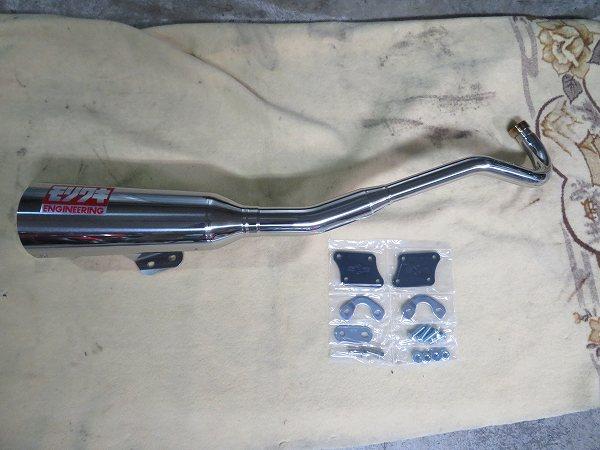スーパーカブC125 モリワキ メガホン マフラー 5