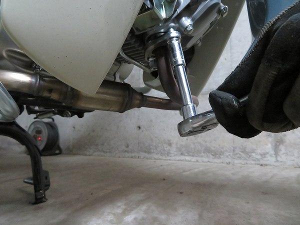 スーパーカブC125 モリワキ メガホン マフラー 9
