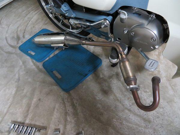 スーパーカブC125 モリワキ メガホン マフラー 16