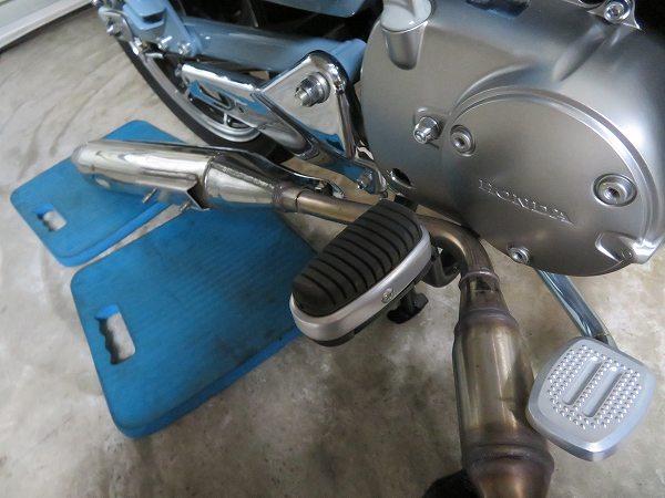 スーパーカブC125 モリワキ メガホン マフラー 15