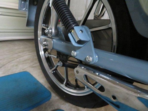 スーパーカブC125 モリワキ メガホン マフラー 17