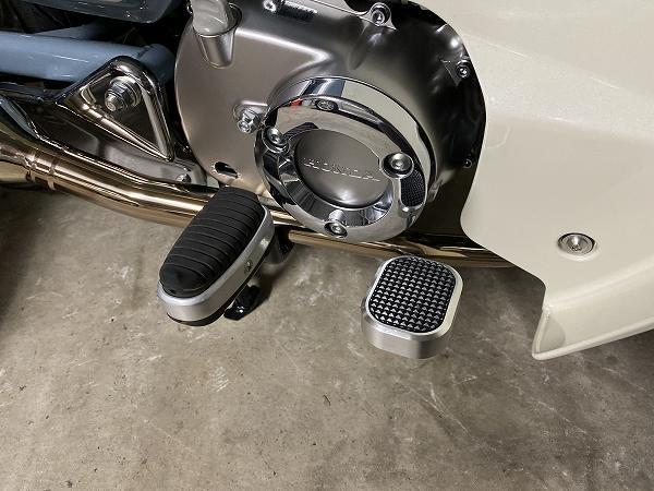 スーパーカブC125 ブレーキペダル ウードムカーチャン 8