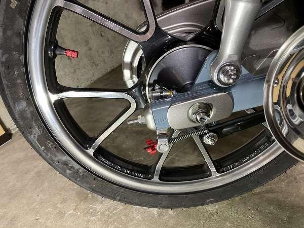 スーパーカブC125 ブレーキペダル ウードムカーチャン 12