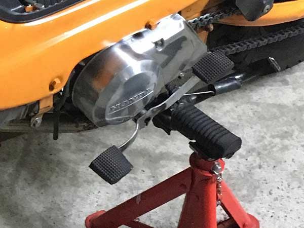 スーパーカブC125 ブレーキペダル ウードムカーチャン 2